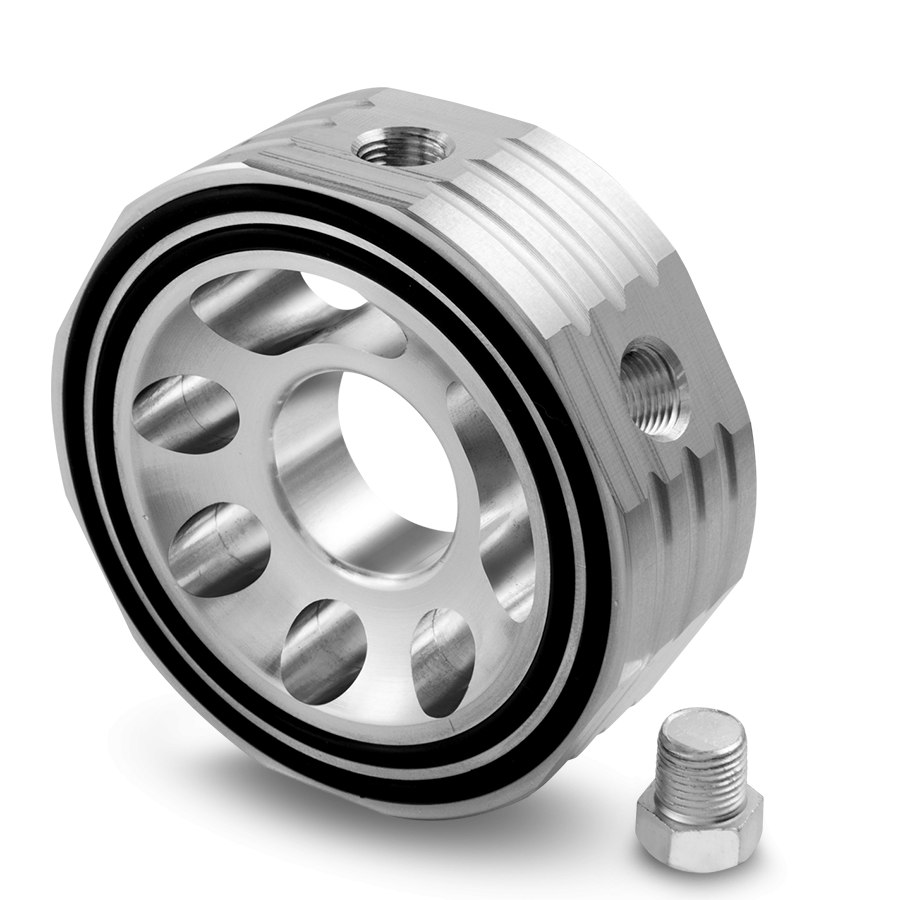 Adapter filtra oleju TurboWorks 65-80MM - GRUBYGARAGE - Sklep Tuningowy